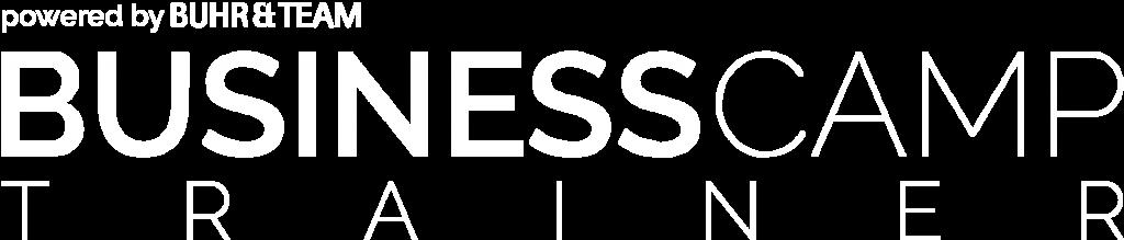 Logo - BusinessCAMP Trainer - weiß